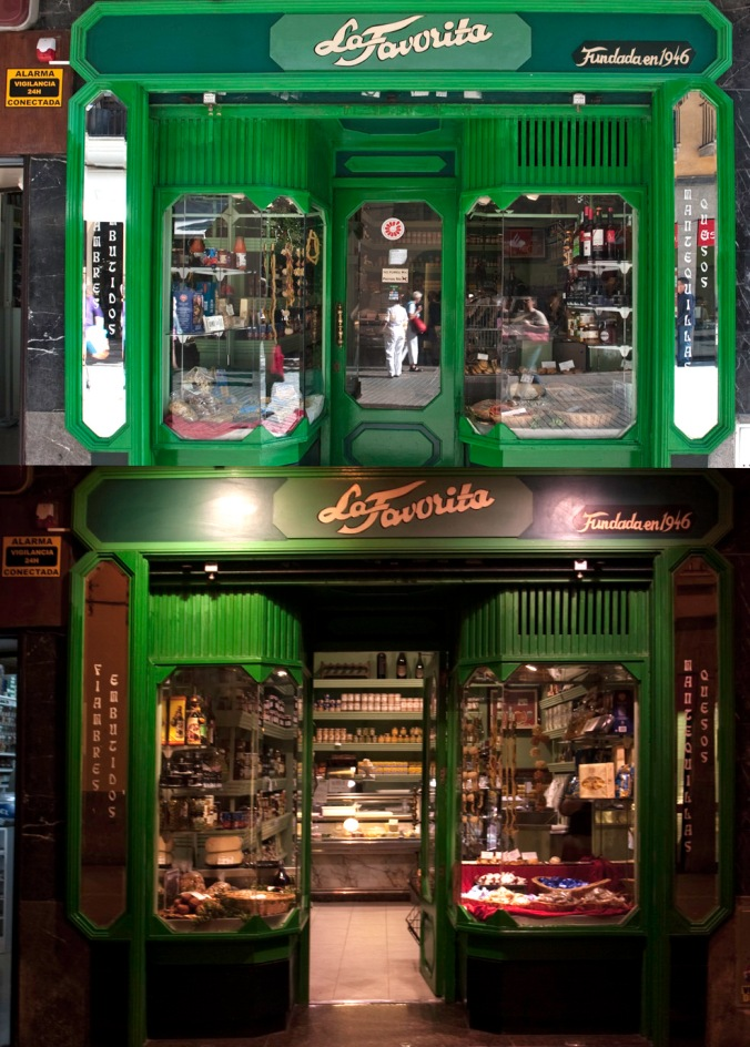 Night and day - La Favorita - Palma, Mallorca