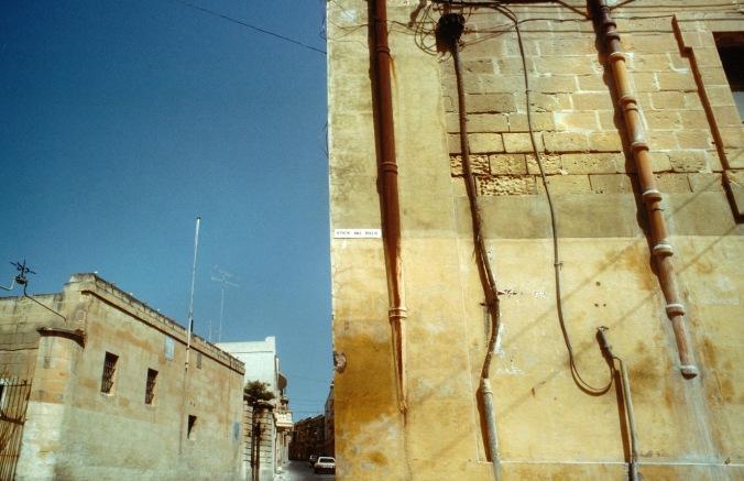 Stick no bills - Gozo, Malta