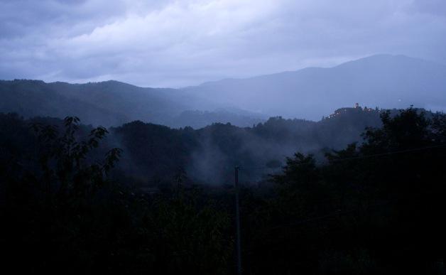 dawn Tuscany